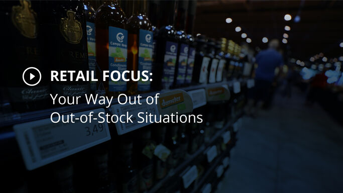 Your Way Out of Out-of-Stock Situations